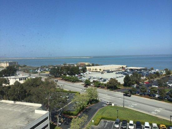 "Hyatt Regency San Francisco Airport - Burlingame : ""Bayview"" room view"