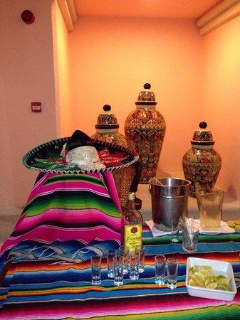 Foto De Hotel Riu Caribe Canc N Decoraci N Restaurante