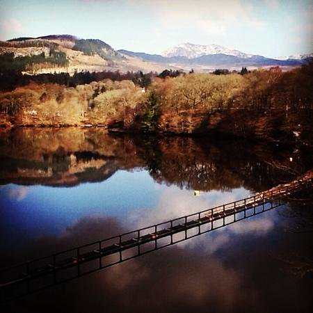 Port-na-Craig Inn: pitlochry in march