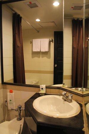 C H Hotel : Bathroom