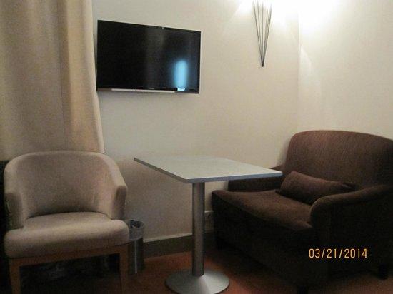 Hotel Residence Foch : Sitting area