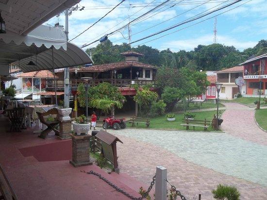Solar Das Artes Pousada Boutique - Morro: vista desde la entrada de la posada