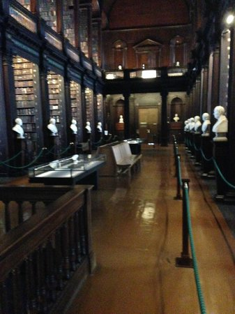 The Book of Kells and the Old Library Exhibition: Library