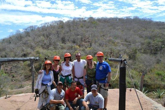 Veraneando Adventure Zipline Tour and River Ride Tour: Group of 6 plus guides