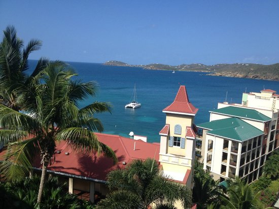 Marriott's Frenchman's Cove: view from balcony