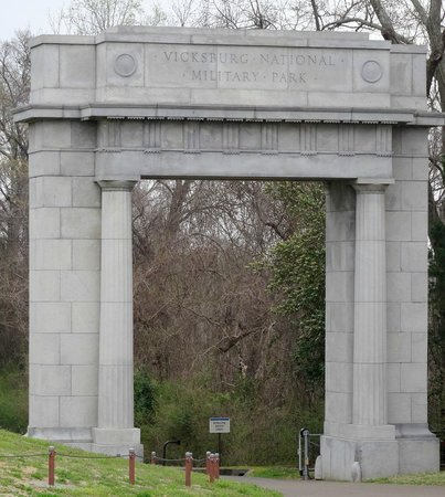 Vicksburg National Military Park : Enter with respect for those who fought for their cause
