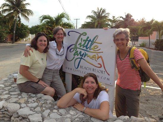 Little Cayman Beach Resort : Happy divers!