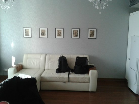 ParkSide Apartments : soggiorno