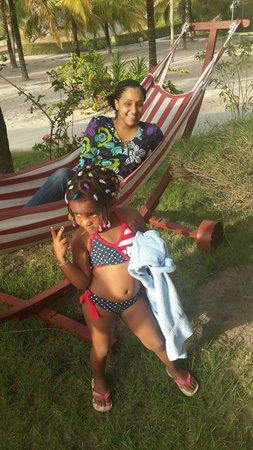 Les Alizes Beach Resort: We had so much fun !