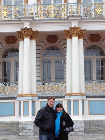 Marina Wilson Private Tours : The Catherine Palace - Marina Wilson Tours