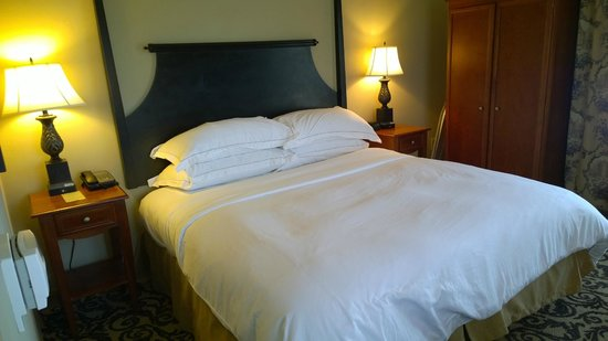 Hilton Columbia Center : King bed