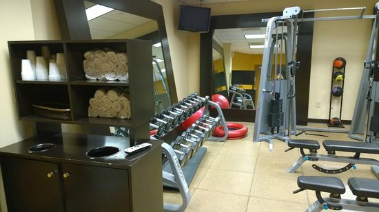 Hilton Columbia Center : exercise room