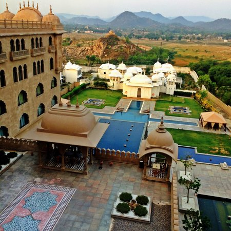 Fairmont Jaipur: View from room 418