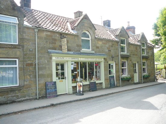 Graze on the Green : the front of the shop