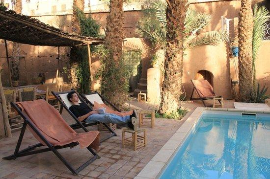Villa Zagora Ma Villa au Sahara: Jardin piscine