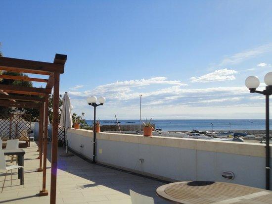 Hotel Sbarcadero: terrazza panoramica