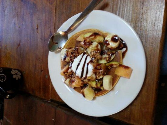 Puerta Vieja Hostel : delicioso desayuno