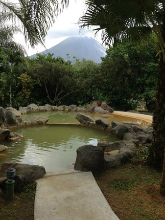 Arenal Paraiso Hotel Resort & Spa: View of Arenal volcano