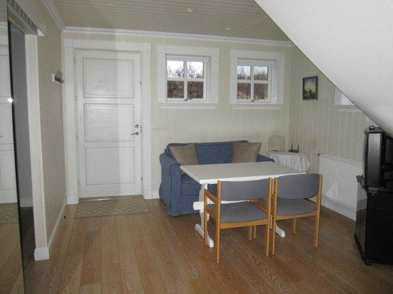 Hotel Grimsborgir : tv room