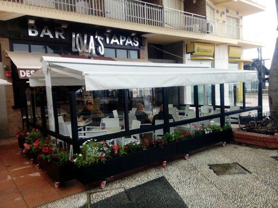 Lolas Estepona: la terraza mas cookie