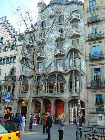 Passeig de Gràcia : Casa batlló en Paseo de Gracia