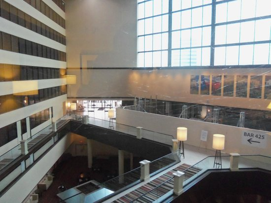 Hyatt Regency Houston Intercontinental Airport: The only negative--felt like I was cut off from the world