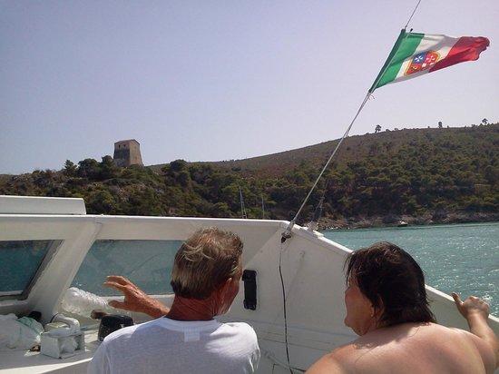Motobarca Desiree Grotte Marine di Vieste : Si parte !!!