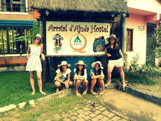 Arraial d'Ajuda Hostel : Antes del Aeropuerto!