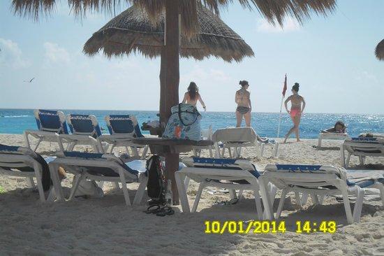 Krystal Cancun: Praia do hotel