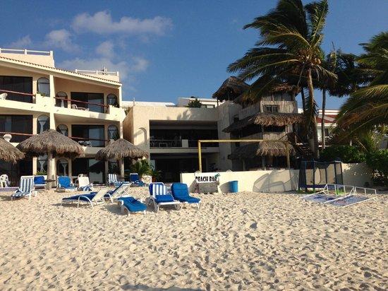 Villas DeRosa Beach Resort: ground floor unit!