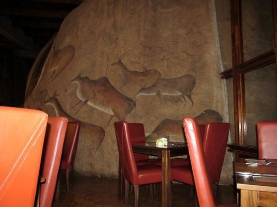 Seronera Wildlife Lodge : Nice artwork on walls