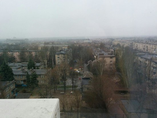 Intourist Hotel Zaporozhye: View from room