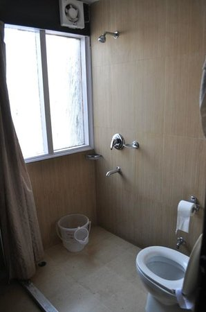 Gautam Residency: Basic bathroom
