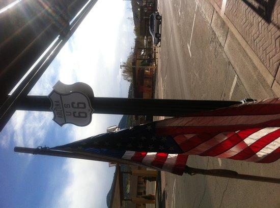 Grand Canyon Railway: US 66 in Williams, AZ