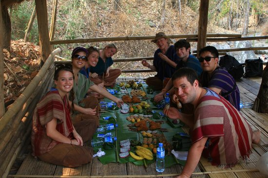 Patara Elephant Farm - Private Tours : about to eat