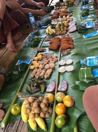 Patara Elephant Farm - Private Tours : great feast when you finish!
