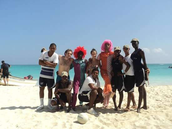 Grand Palladium Punta Cana Resort & Spa: Con los mejores animadores