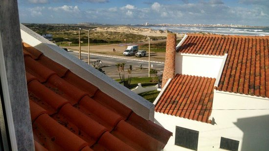Baleal Surf Camp: View from hostel room
