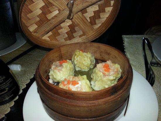 Restaurante Tatami: xakao al vapor