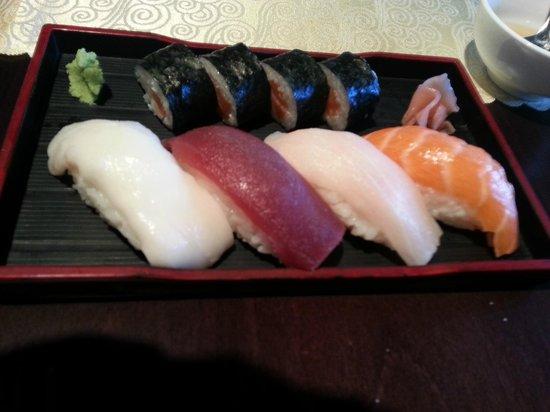 Restaurante Tatami: sushi