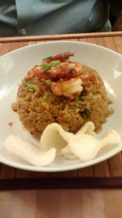 Betawi: arroz frito con gambas