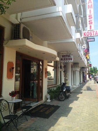 Alexiou Hotel: Парадная