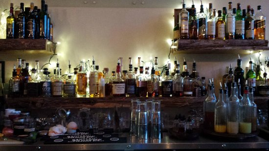 Veritas Tavern : Marvelous selection of whiskeys!
