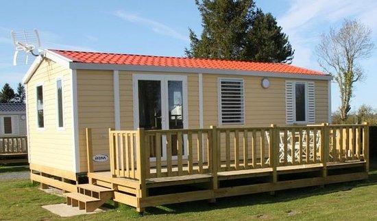 Camping L'escapade : mobil home