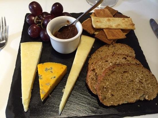 Northcote Restaurant: Selection of Lancashire Cheeses