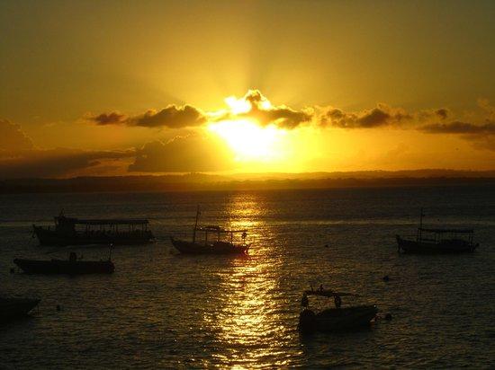 Pousada Borakay: Por do sol