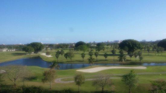 Sheraton Miami Airport Hotel & Executive Meeting Center: Vista do campo de golf