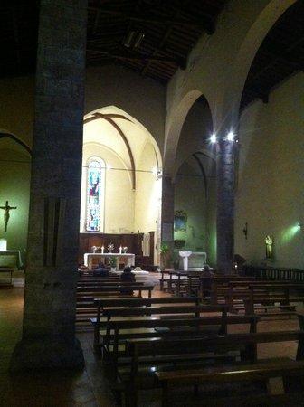 Chiesa di San Lorenzo: Interno di San Lorenzo a Poggibonsi