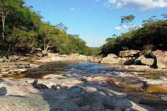 Sossego Waterfall: Ponto de parada a caminho da cachoeira do Sossego