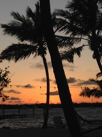Another beautiful sunset at the Coconut Palm Inn